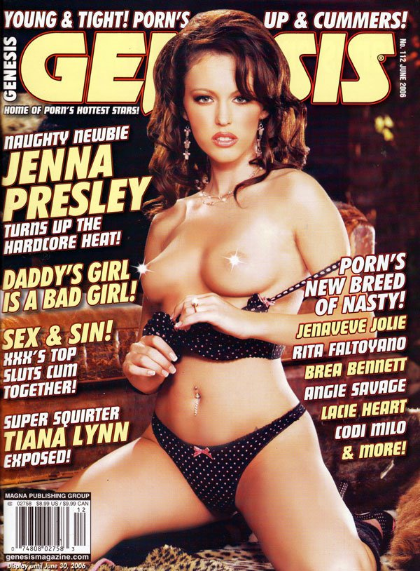 Genesis # 112 - June 2006 magazine back issue Genesis magizine back copy Back Issue Genesis Sex Magazine Tera Patrick publisher hardcore xxx sex mag ragmag