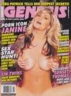 Janine magazine cover  Genesis # 102 - September 2005
