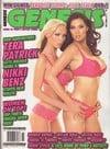 Tera Patrick & Nikki Benz magazine cover  Genesis # 115 - September 2006
