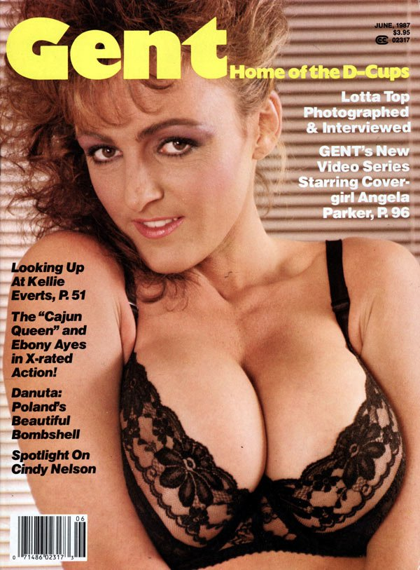 Gent June 1987 magazine back issue Gent magizine back copy gent june 1987  back issue,