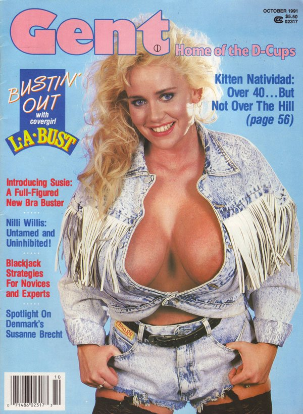 Gent October 1991 magazine back issue Gent magizine back copy gent magazine back issues home of the d cups hot sexy huge tits explicit photos nude girls big boobs