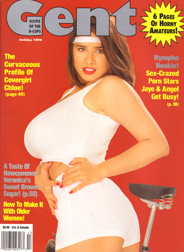 Gent Holiday 1994 magazine back issue Gent magizine back copy the curvaceous profile of gent magazine covergirl chloe pornstars jaye and angel get busy nympho noo