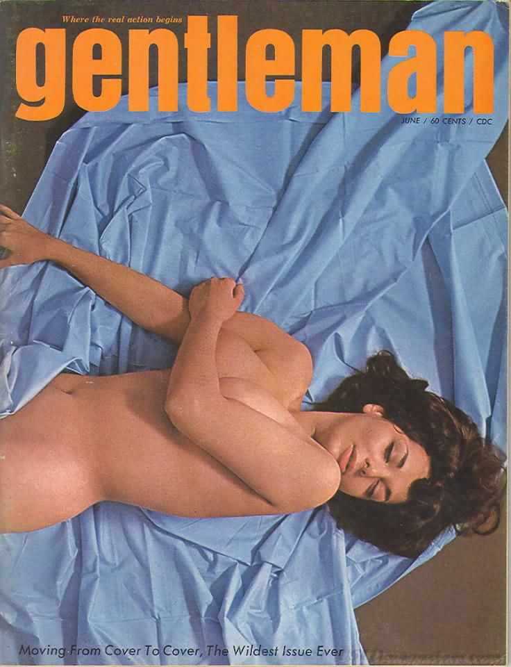 Gentleman June 1965 magazine back issue Gentleman magizine back copy