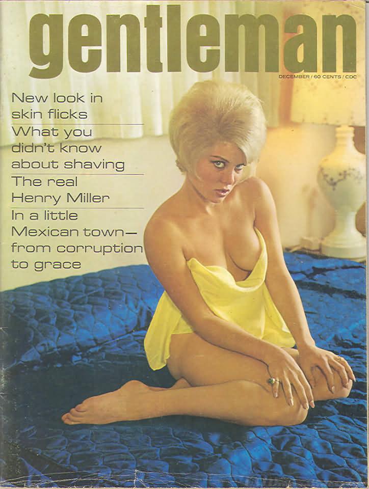 Gentleman December 1965 magazine back issue Gentleman magizine back copy