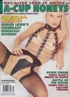 Girls/Girls # 4, 1994, A-Cup Honeys magazine back issue