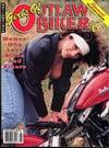 Girls of Outlaw Biker # 6 magazine back issue