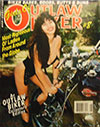 Girls of Outlaw Biker # 8 magazine back issue