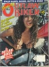 Girls of Outlaw Biker # 9 magazine back issue
