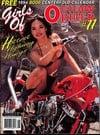 Girls of Outlaw Biker # 11 magazine back issue
