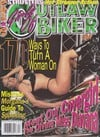 Girls of Outlaw Biker # 34 magazine back issue