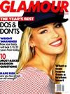 Glamour January 1993 magazine back issue