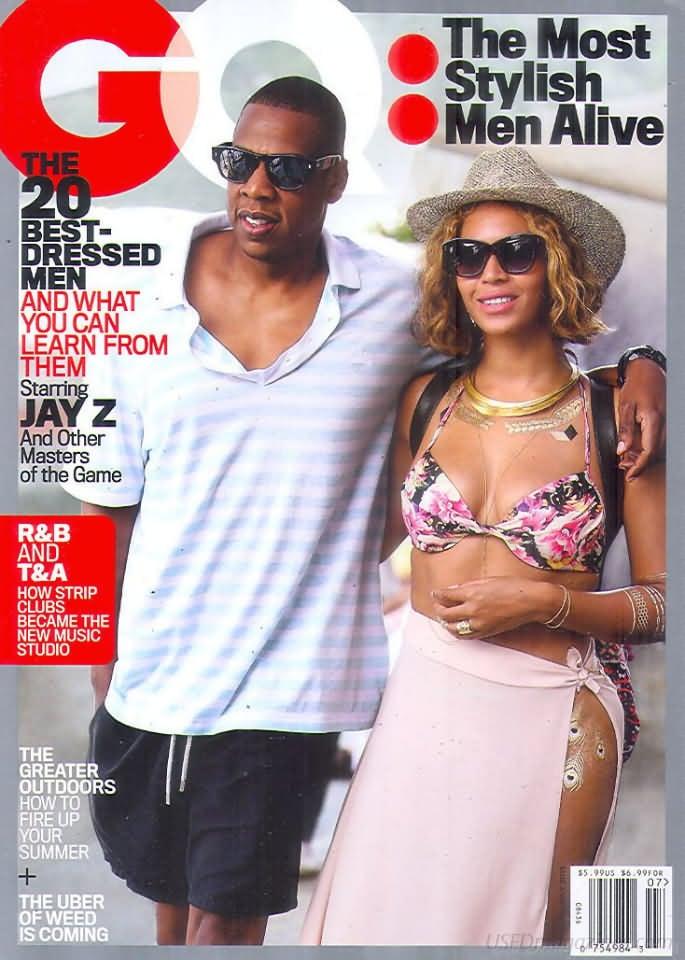 GQ July 2015 magazine back issue GQ magizine back copy