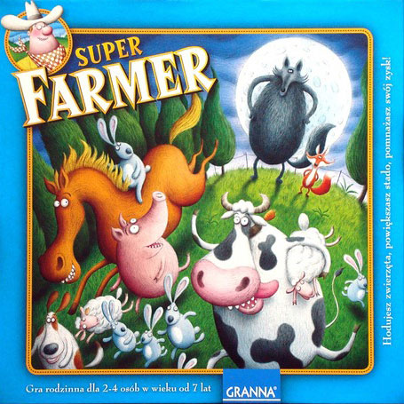 Super Farmer Strategy Family Game Made by Granna # 310863 super-farmer