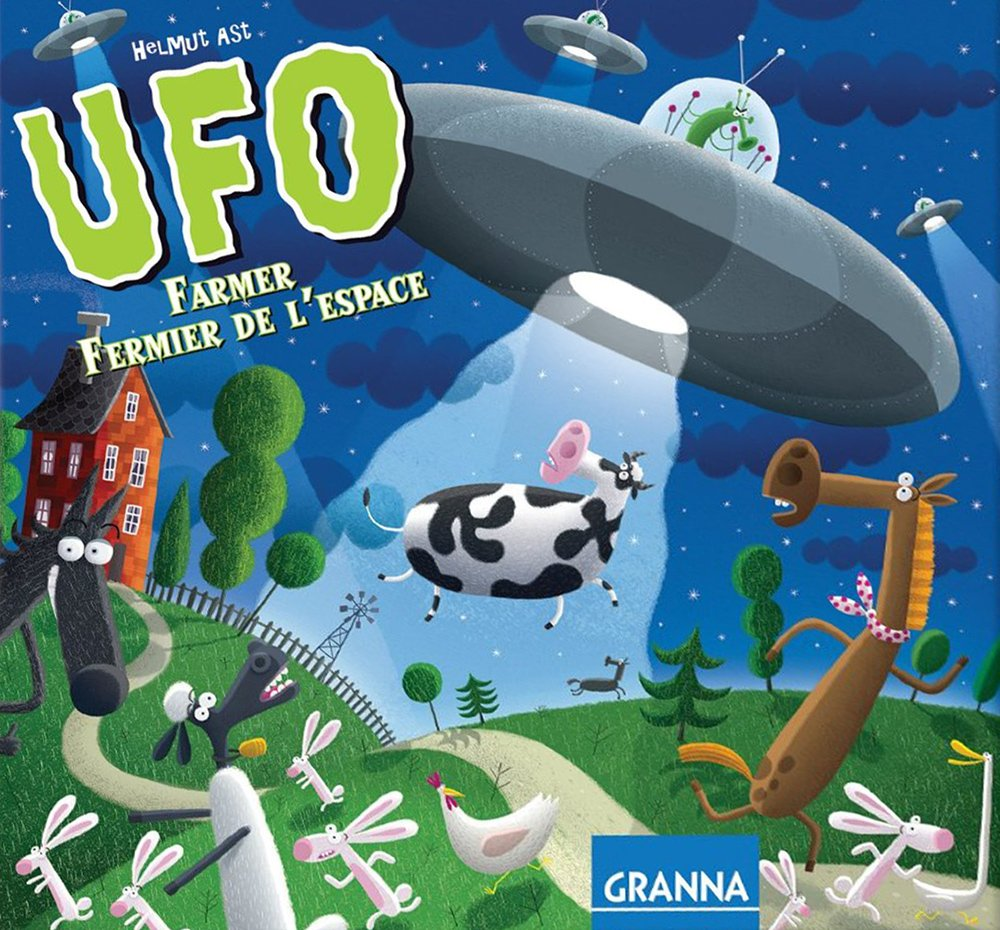 UFO Farmer Strategy Family Game Made by Granna # 312072 ufo-farmer