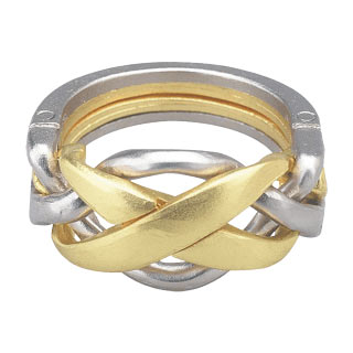 hanayama puzzles, metal puzzle by puzzlemaster, ring ring