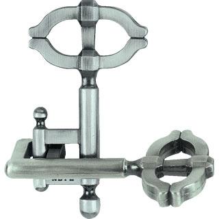 hanayama puzzles, metal puzzle by puzzlemaster, key2 key2
