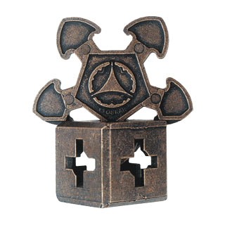 hanayama puzzles, metal puzzle by puzzlemaster, o'gear ogear