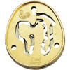 hanayama puzzles, metal puzzle by puzzlemaster, l'oeuf Puzzle