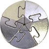 hanayama puzzles, metal puzzle by puzzlemaster, spiral Puzzle