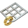 hanayama puzzles, metal puzzle by puzzlemaster, duet