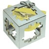 hanayama puzzles, metal puzzle by puzzlemaster, cuby