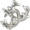hanayama puzzles, metal puzzle by puzzlemaster, elk