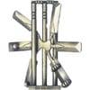 hanayama puzzles, metal puzzle by puzzlemaster, cricket Puzzle