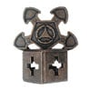 hanayama puzzles, metal puzzle by puzzlemaster, o'gear