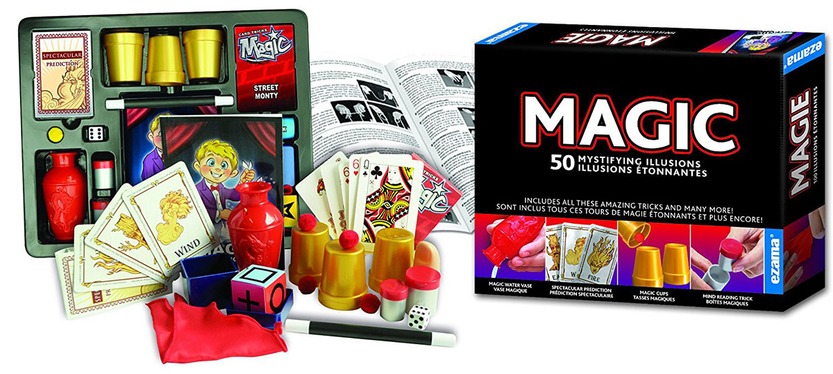75 Magic Illusions, Made by Hanky Panky Toys. Easy step-by-step instruction booklet included 75-magic-illusions