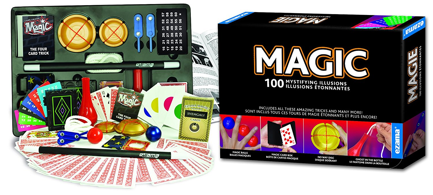 150 Magic Illusions, Made by Hanky Panky Toys. Easy step-by-step instruction booklet included 150-magic-illusions