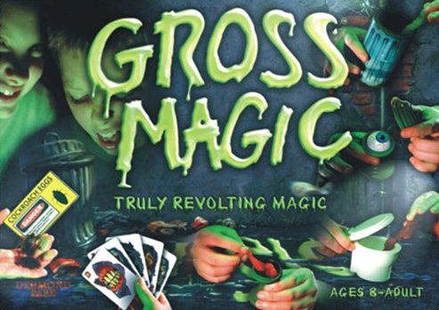 Gross Magic, Made by Hank Panky Toys truly revolting magic gross-magic