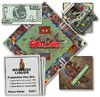 money-game-ghettopoly,Ghettopoly is a Monopoly style board game featuring pimps whores blacks hoods sluts crach houses car