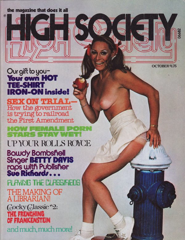 High magazine man porn society