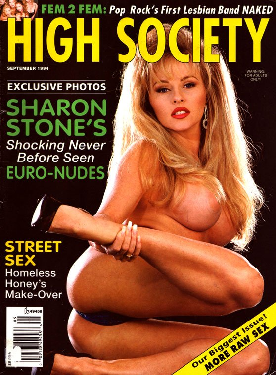 High Society September 1994 magazine back issue High Society magizine back copy High Society September 1994 ,Back Issues, Naked Centerfolds, Celebrity Sex, Ultra-Hot XXX Action,