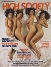 High Society September 1977 magazine back issue