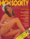 High Society April 1978 magazine back issue
