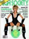 Farrah  Fawcett magazine cover Appearances High Society January 1981