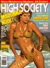 Ginger Lynn magazine cover  High Society October 1985