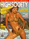 High Society October 1985 magazine back issue