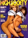 Christy Canyon High Society November 1985 magazine pictorial