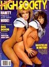 High Society November 1985 magazine back issue