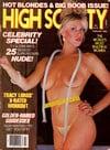 High Society February 1986 magazine back issue