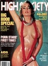High Society April 1986 magazine back issue