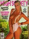 High Society June 1986 magazine back issue
