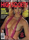 High Society July 1986 magazine back issue