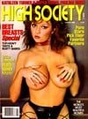 High Society August 1986 magazine back issue