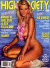 High Society November 1986 magazine back issue