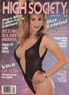 High Society August 1988 magazine back issue