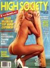 High Society February 1989 magazine back issue