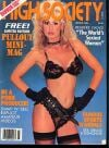 High Society March 1989 magazine back issue